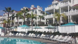 The oceanfront exclusive condos at the Hotel Del