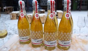 Sparkling Ice Cider from Domaine Neige