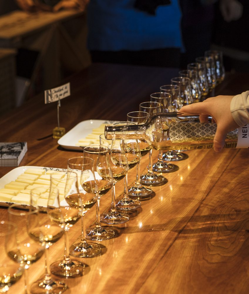 Ice Cider and Cheese Tasting