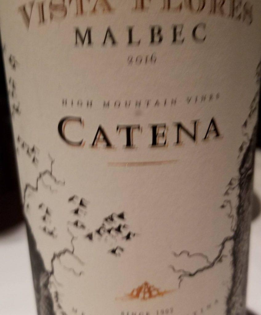Argentinian Malbec to enjoy with my steak
