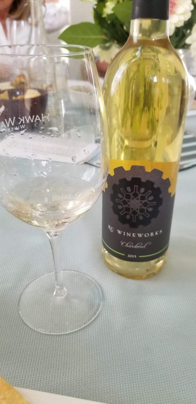 KC Wineworks 2015 Chardonel