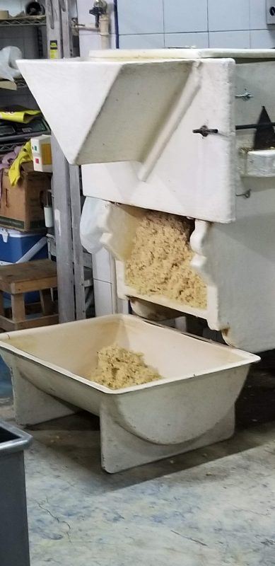 Making Masa. 100% corn