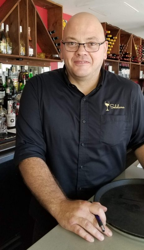 Michele Borelli, owner Sole Luna Restaurant