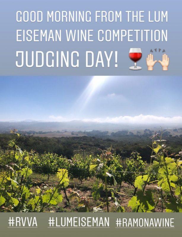 Lum Eisenman wine Contest Judging Day