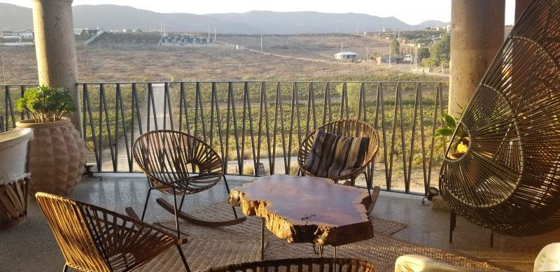 New Patio at La Lomita Winery