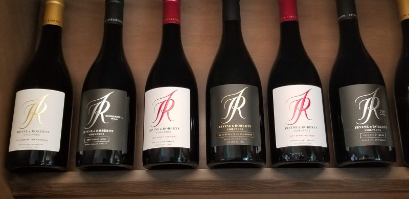 Irvine and Roberts wines