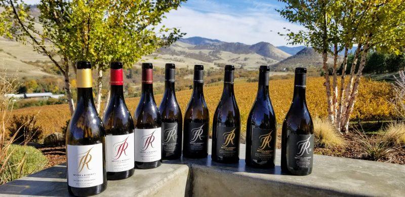 Irvine and Roberts wines