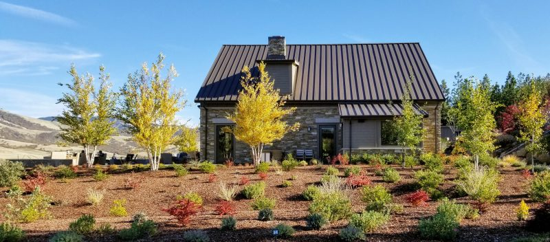 The new tasting room at Irvine and Roberts Winery