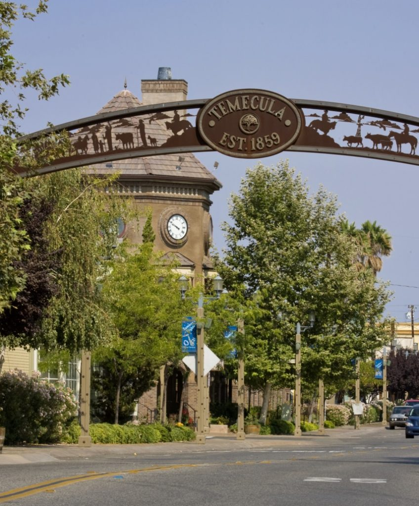 Gateway to Old Town Temecula