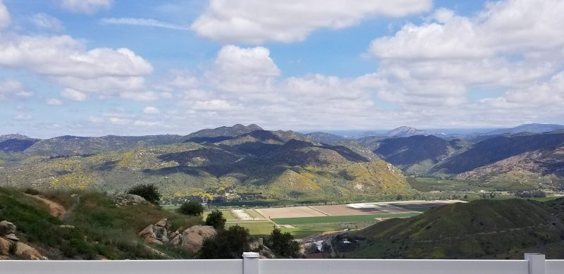 San Pasqual Valley - view from Speckle Rock Winery