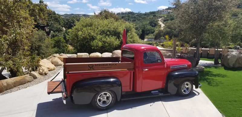 Speckle Rock Vineyard Truck