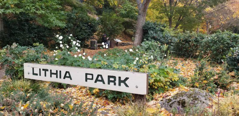 Entrance to Lithia Park