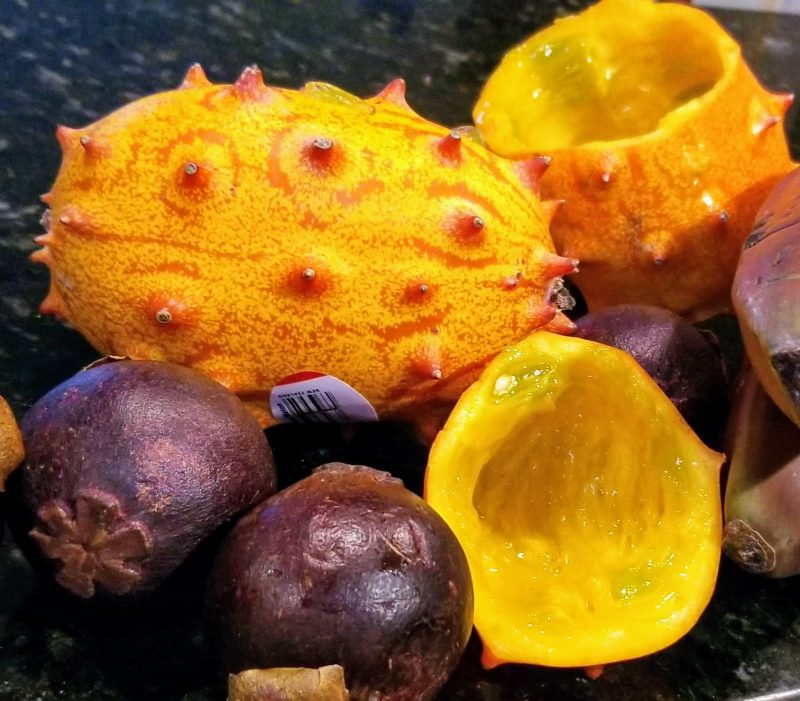 Kiwano Melon Fruit