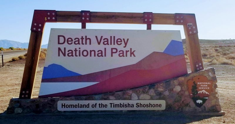 Entrance to Death Valley