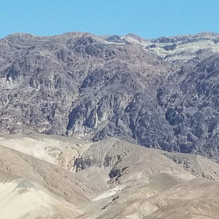 Barren hills of Death Valley
