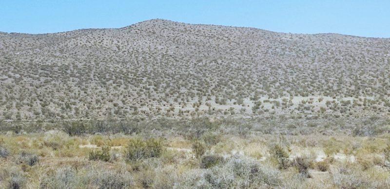Barren countryside off I-15
