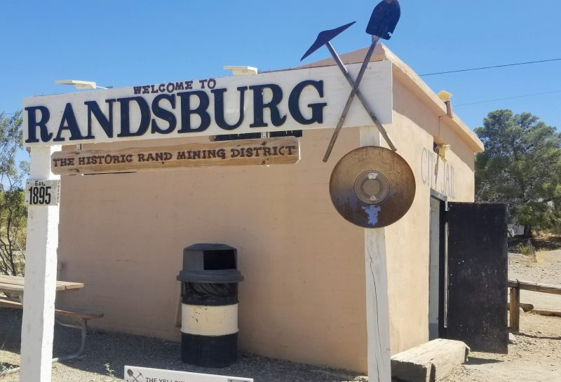 Entrance to Randsburg