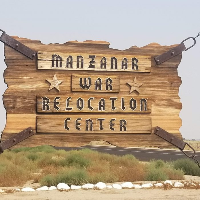 Entrance to Manzanar