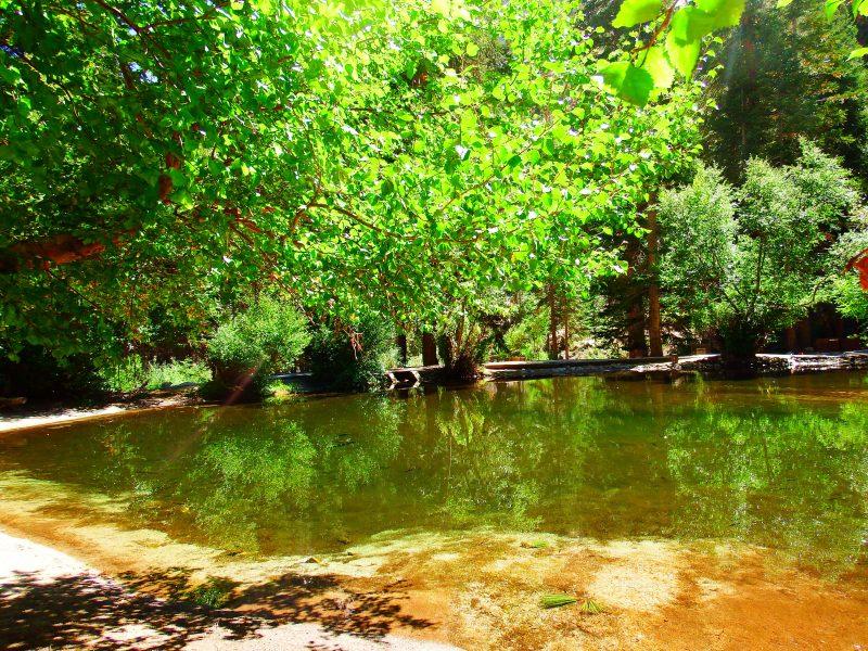 Pond at Whitney Portal