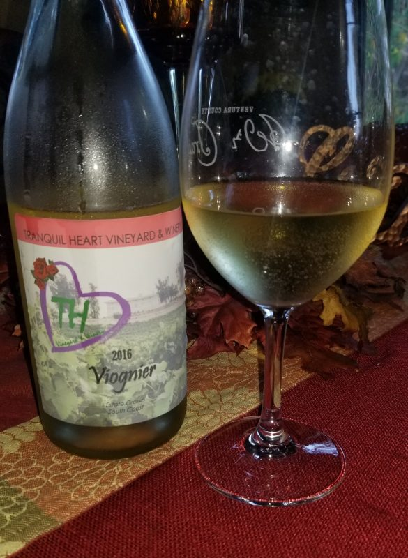 Viognier from Tranquil Heart Winery