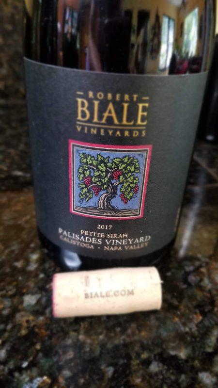 Biale Vineyards Petite Sirah