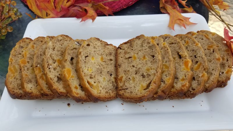 Apricot Walnut Sourdough Bread