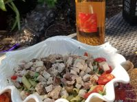 Salad Nicoise with Tres Sabores Rose