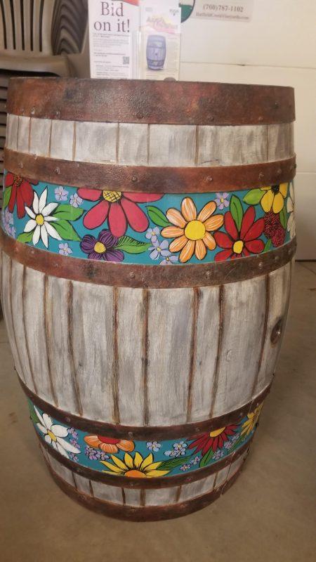 Tracy Weinzapfel's barrel