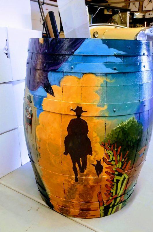 Charlene Pulsonetti's barrel