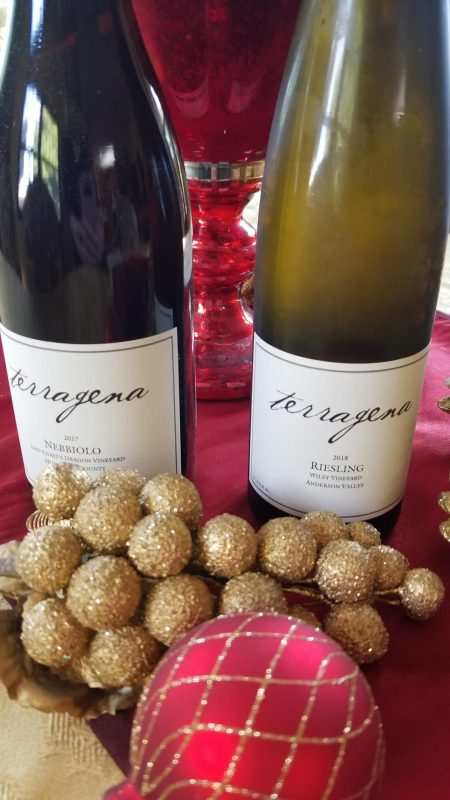 Terragena Nebbiolo and Riesling