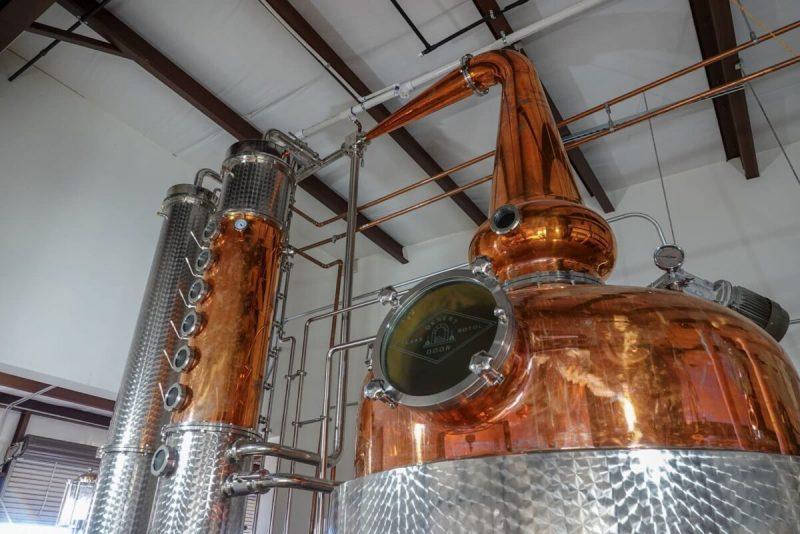 Still for distilling Sotol